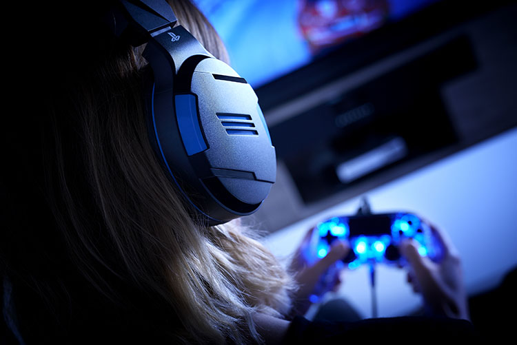 Strereo gaming headset for PS4™, PC, MAC and mobile devices - Image