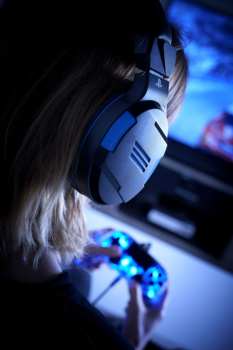 Strereo gaming headset for PS4™, PC, MAC and mobile devices - Image  #1