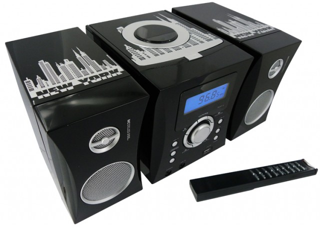 Micro system radio CD MP3 USB (MCD04) - Imagen del envoltorio