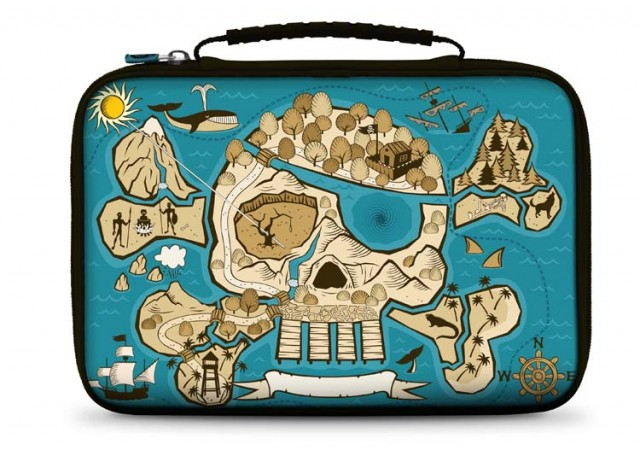 "Carrying case for tablet ""Pirate"" - Imagen del envoltorio"