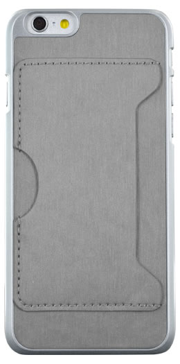 Rigid back cover with card holder (Gray) - Imagen del envoltorio