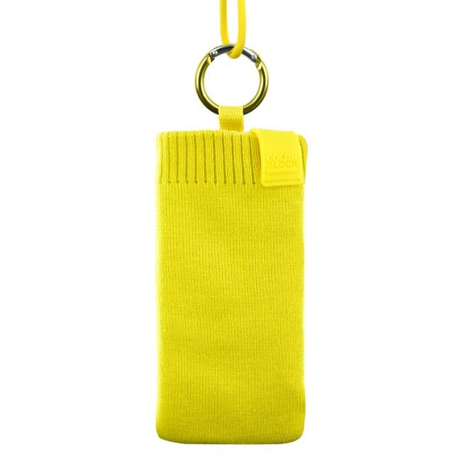Calcetín de protección universal Colorblock (Solar Yellow) - Imagen del envoltorio