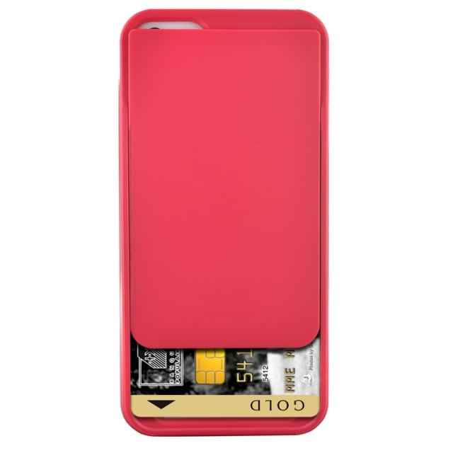Funda rigida con portatarjeta integrado (Berry Red) - Imagen del envoltorio