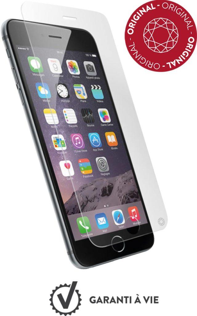 "Cristal templado protector de pantalla FORCEGLASS ""original"" iPhone 7 - Imagen del envoltorio"