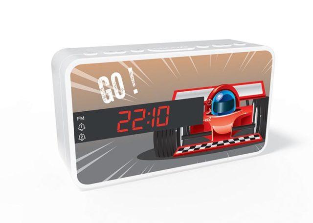 Reloj Despertador Bigben RR15 diseño Car - Imagen del envoltorio