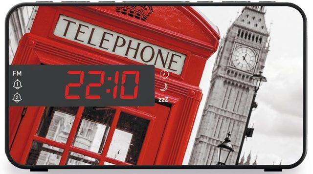 Reloj Despertador Bigben RR15 diseño Londres - Imagen del envoltorio