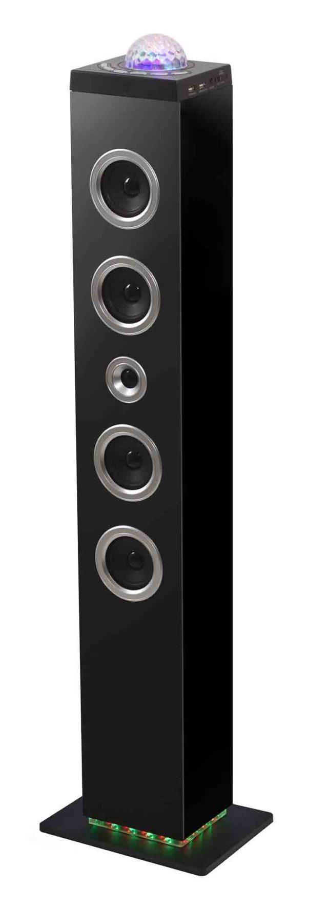 Torre multimedia con superficie de iluminación Bluetooth Bigben - Imagen del envoltorio