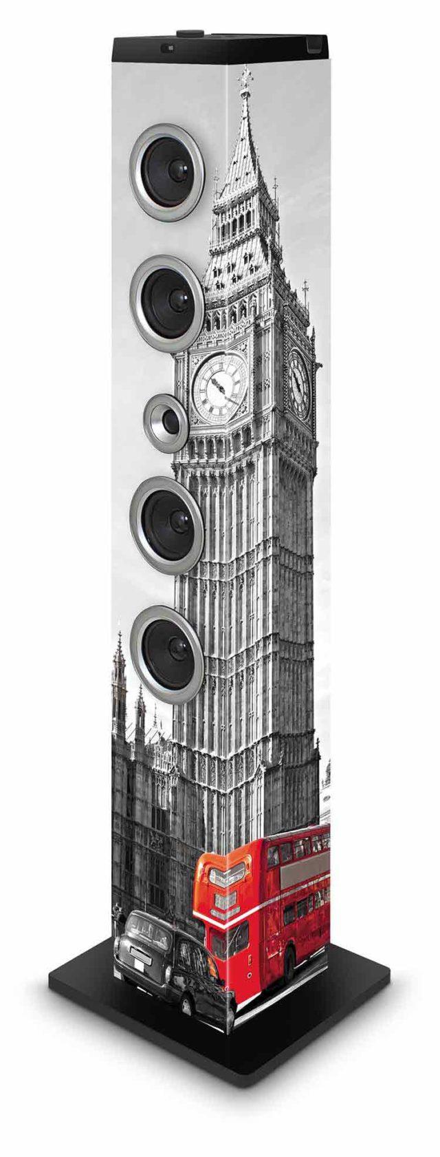Torre Multimedia BIGBEN Diseño Londres - Imagen del envoltorio