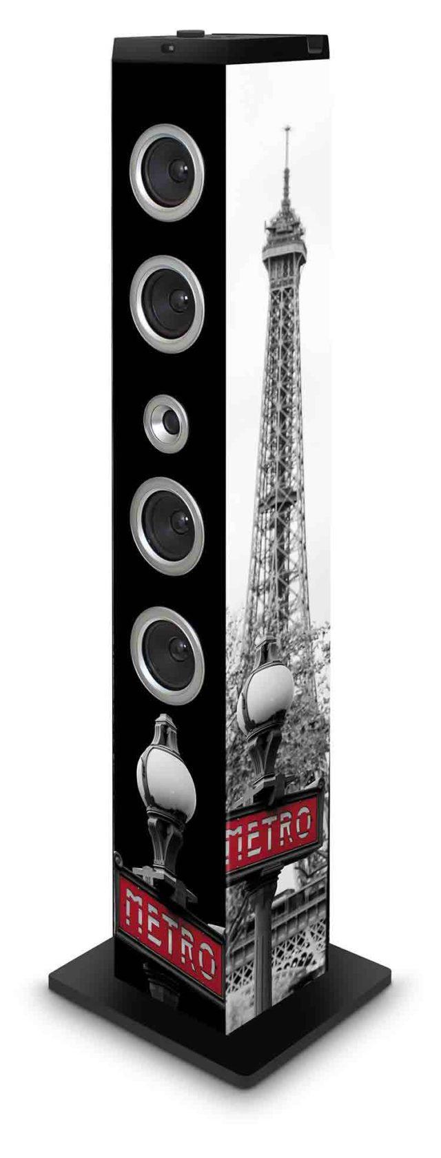 Torre Multimedia BIGBEN diseño metro - Imagen del envoltorio