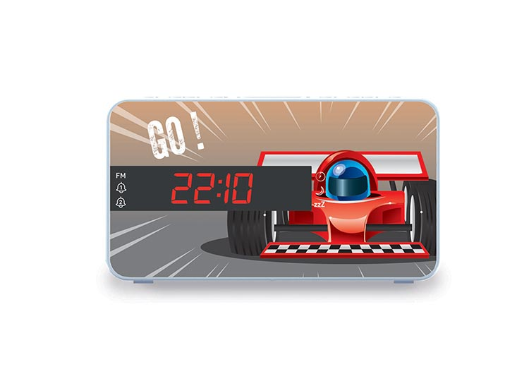 Reloj Despertador Bigben RR15 diseño Car - Imagen