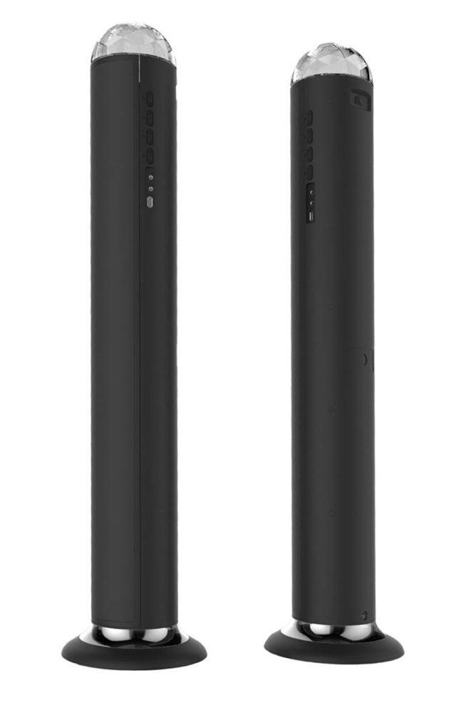 Torre multimedia Bigben con efectos de iluminación - Imagen del envoltorio