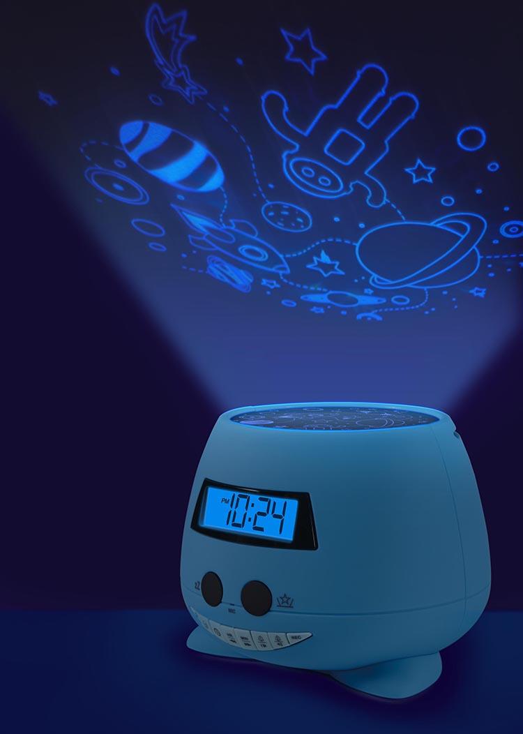 Despertador Reloj Infantil azul Bigben Kids con proyector - Imagen#2tutu#3