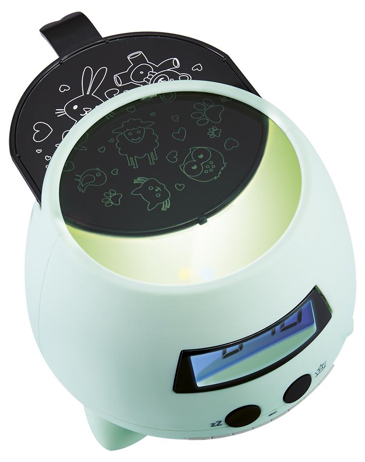 Reloj Despertador proyector verde Bigben Kids con proyector - Imagen#1