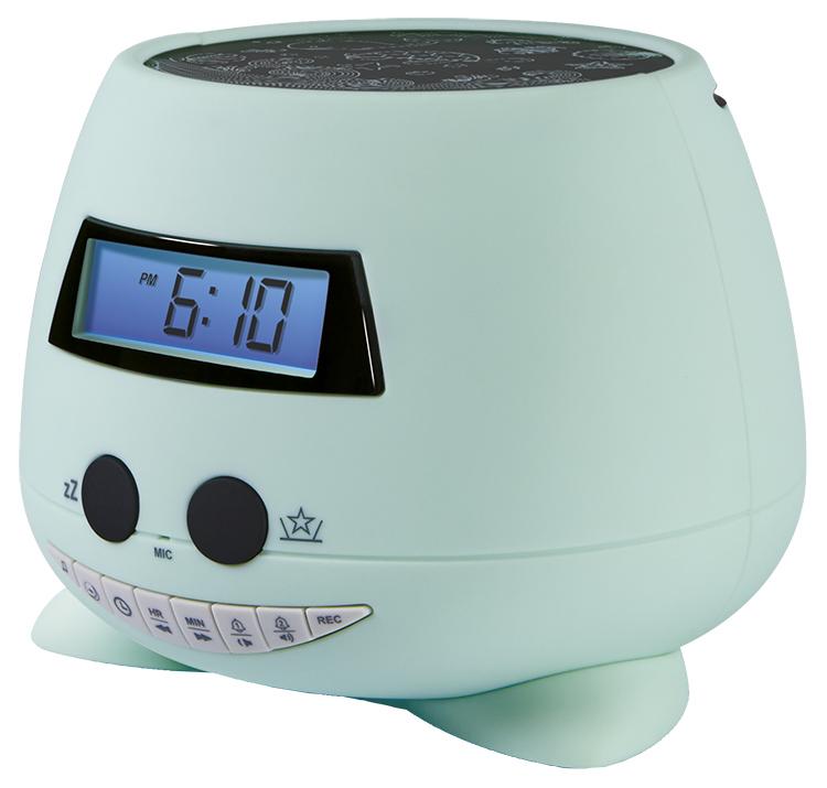 Reloj Despertador proyector verde Bigben Kids con proyector - Imagen#2tutu