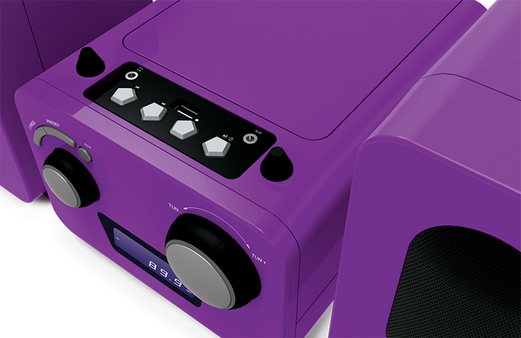Micro system with CD MP3 Player - Imagen#1