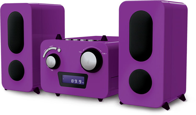 Micro system with CD MP3 Player - Imagen#2tutu