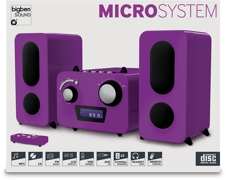 Micro system with CD MP3 Player - Imagen#2tutu#4tutu#5