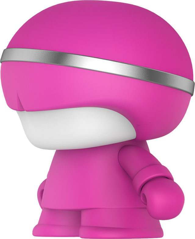 Mini speaker Bluetooth® Xboy Xoopar (pink) - Imagen del envoltorio
