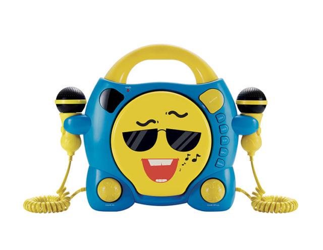 """CD player Karaoke con dos Micrófonos Bigben Kids """"My Milo"""" """" - Imagen del envoltorio"""
