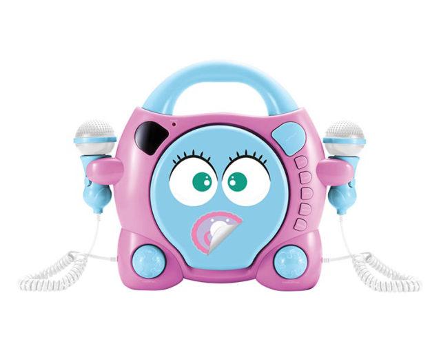 "Karaoke CD player con dos micrófonos Bigben Kids ""My Mia"" - Imagen del envoltorio"