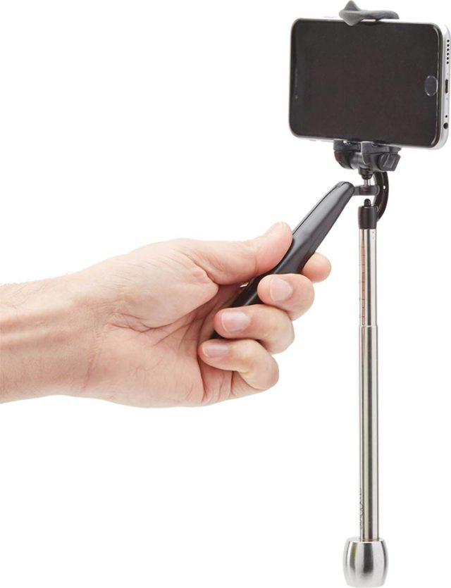 Soporte para camará y estabilizador para fotografía de acción Bigben - Imagen del envoltorio