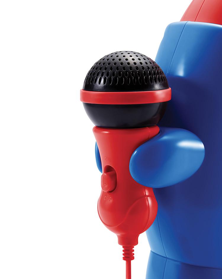 "Karaoke CD player con 2 micrófonos ""My Billy"" - Imagen#1"