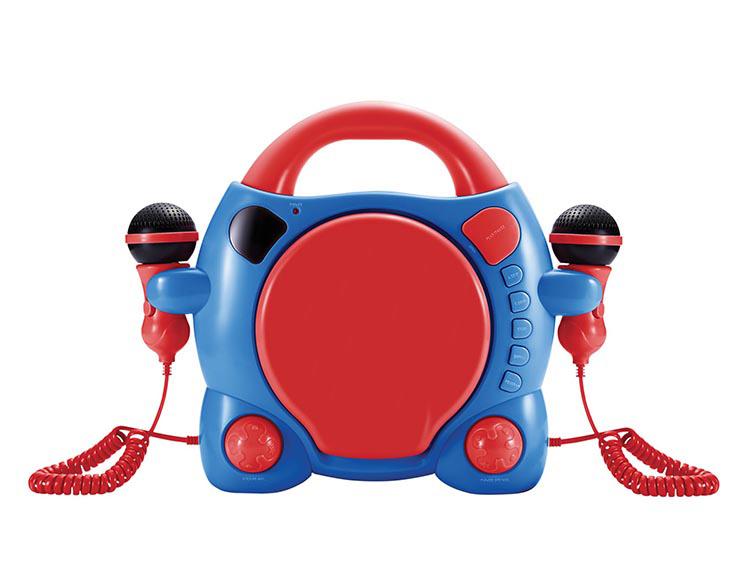"Karaoke CD player con 2 micrófonos ""My Billy"" - Imagen#2tutu"