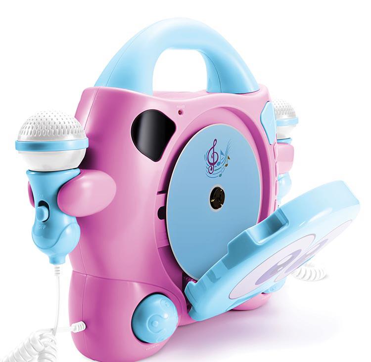 "Karaoke CD player con dos micrófonos Bigben Kids ""My Mia"" - Imagen"
