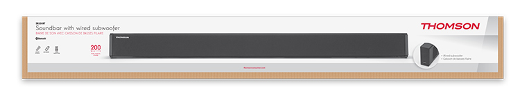 Barra de sonido Thomson con subwoofer con cable - Imagen#2tutu#4tutu#6tutu
