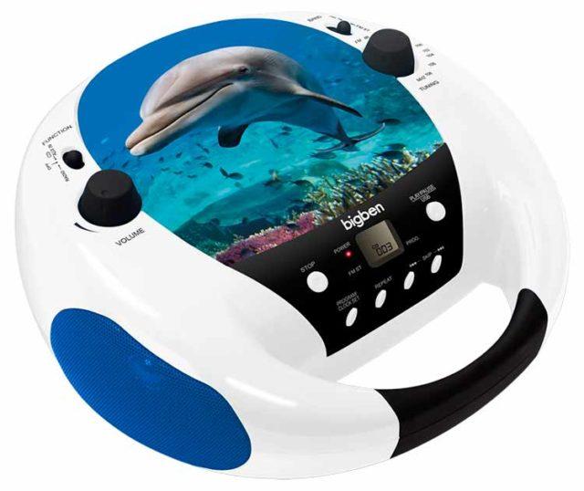 Radio CD player Bigben diseño animales - Imagen del envoltorio
