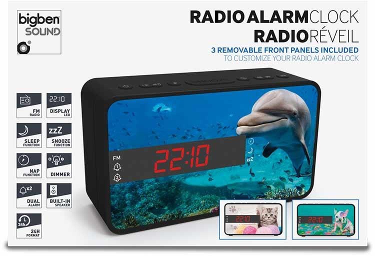 Radio despertador Bigben diseño animales - Imagen#2tutu#4tutu#6tutu