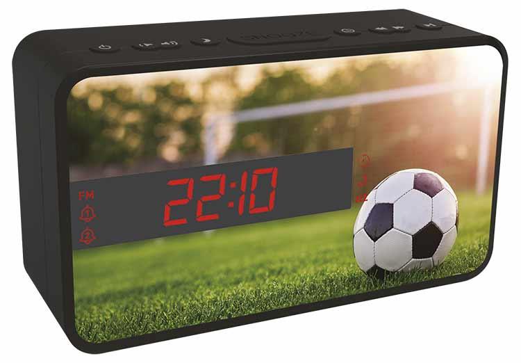 Radio Despertador Bigben diseño deportivo (Fútbol) - Imagen#1