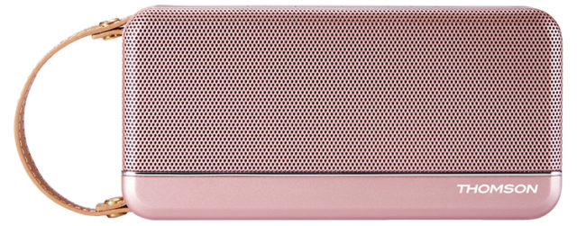 Altavoz Bluetooth THOMSON (rosa metálico) - Imagen del envoltorio