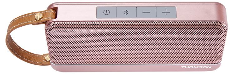 Altavoz Bluetooth THOMSON (rosa metálico) - Imagen#1