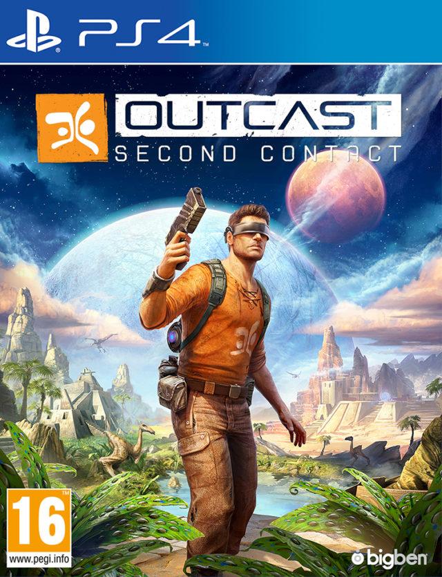 Outcast – Second Contact - Imagen del envoltorio