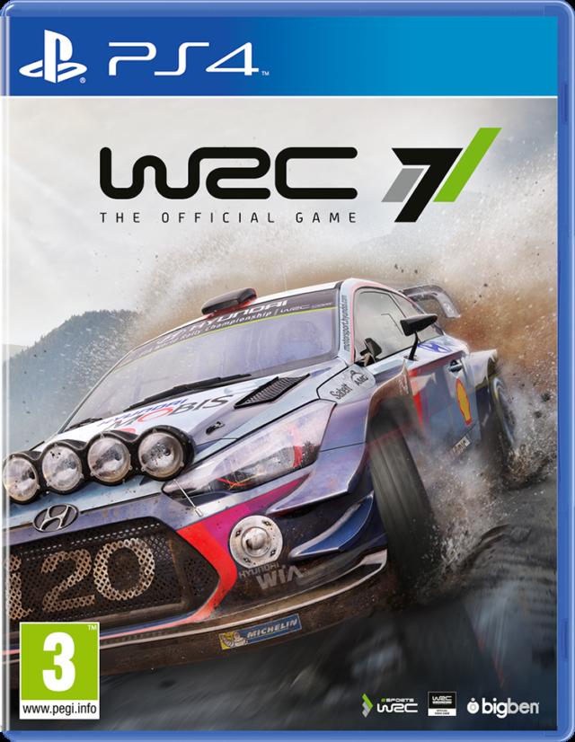 WRC 7 the official Game - Imagen del envoltorio