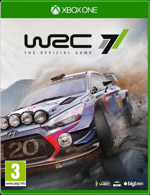 WRC 7 - Imagen del envoltorio