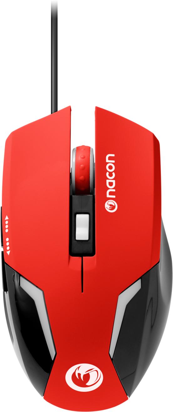 Nacon Optical Mouse (Red) - Imagen del envoltorio