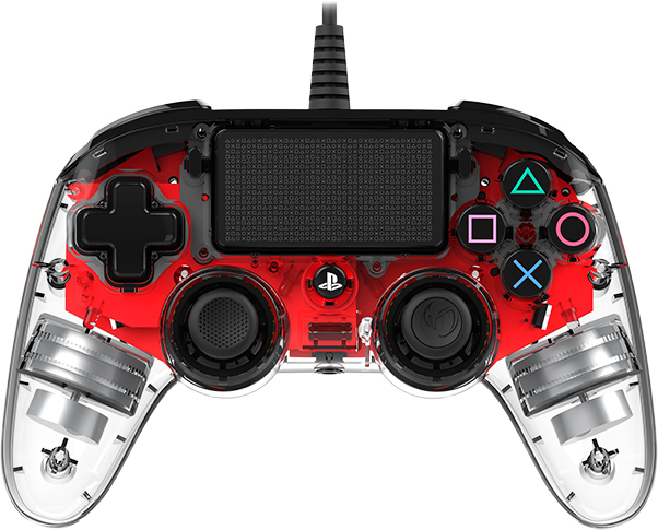 Nacon wired compact PlayStation®4 (PS4TM) Rojo Cristal - Imagen del envoltorio