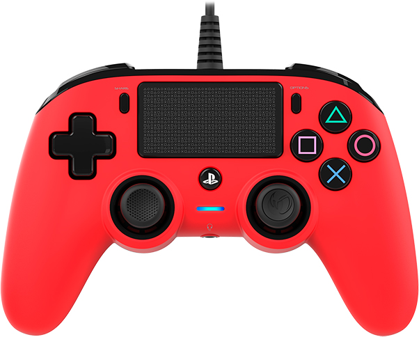 Nacon wired compact PlayStation®4 (PS4TM) Rojo - Imagen del envoltorio