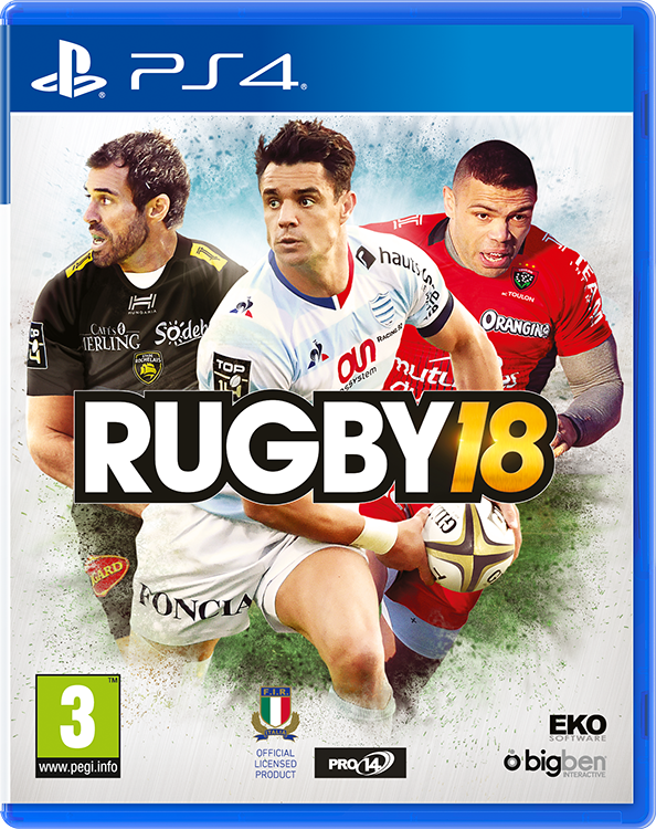 RUGBY 18, The official Game - Imagen del envoltorio