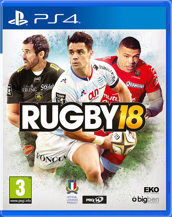 RUGBY 18, The official Game - Imagen del envoltorio