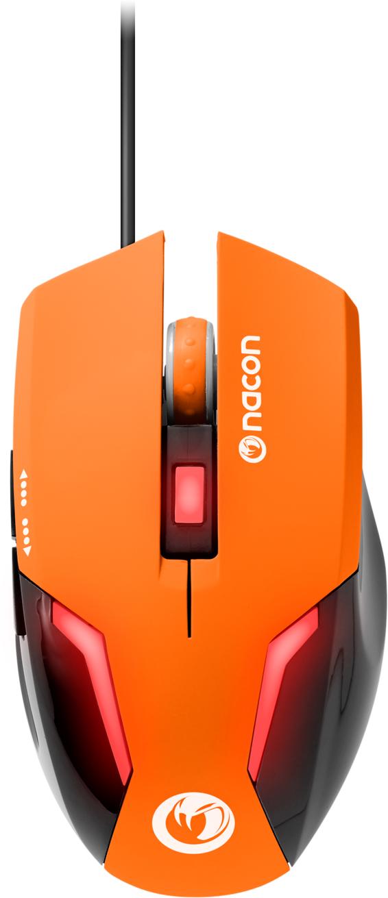 Nacon Optical Mouse (Orange) - Imagen
