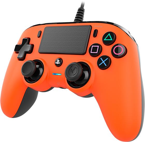 Nacon wired compact PlayStation®4 (PS4TM) Naranja - Imagen