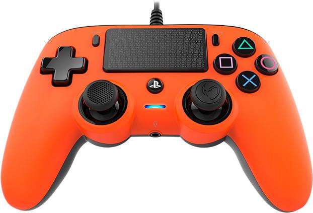Nacon wired compact PlayStation®4 (PS4TM) Naranja - Imagen#1