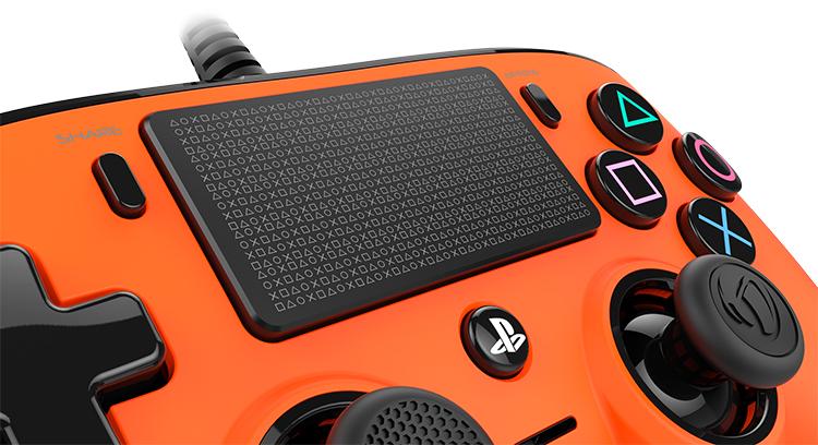 Nacon wired compact PlayStation®4 (PS4TM) Naranja - Imagen#2tutu#4tutu#6tutu