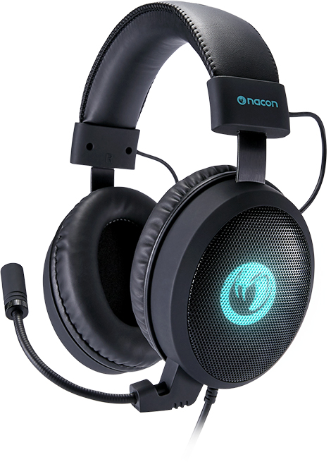 Headsets NACON 7.1 Pro-gaming - Imagen del envoltorio