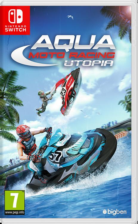 Aqua Moto Racing Utopia - Imagen del envoltorio