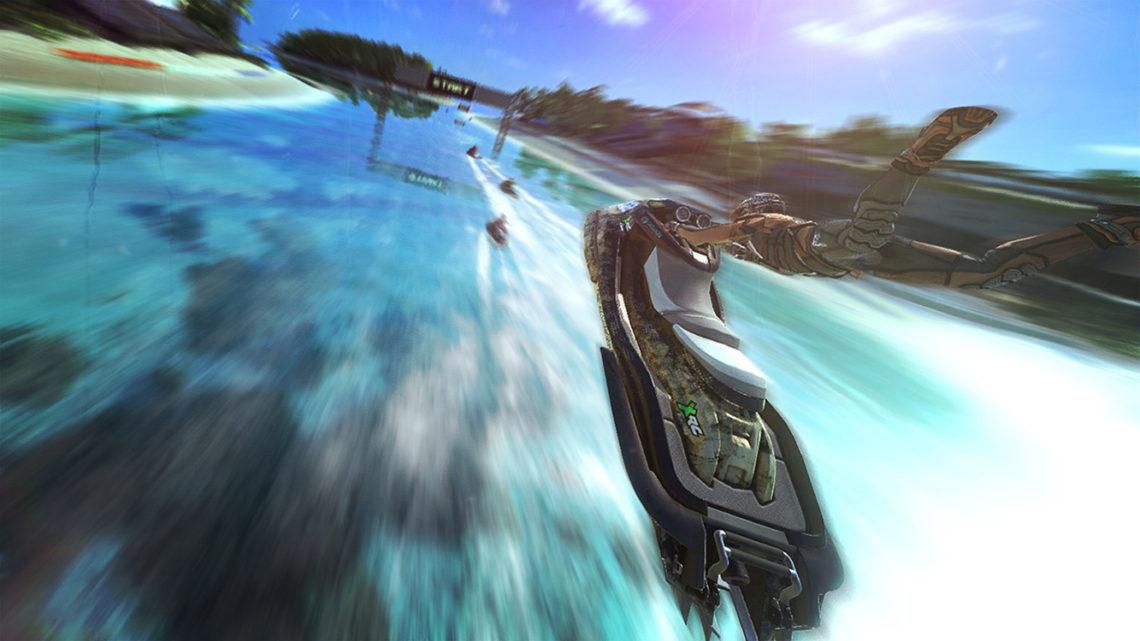 Aqua Moto Racing Utopia - Captura de pantalla#1