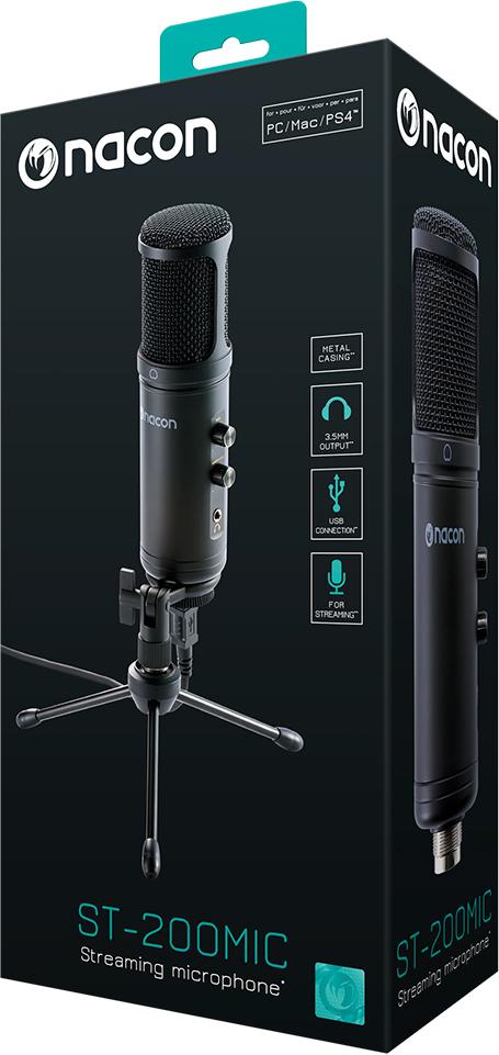 Micrófono profesional pro-gaming NACON PCST-200MIC - Imagen#2tutu#4tutu